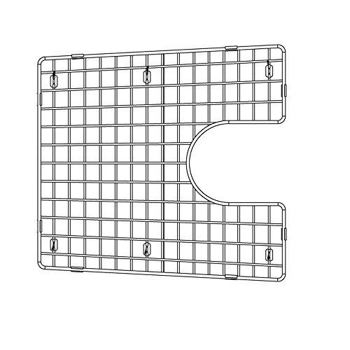 - Blanco 226828 Sink Grid, Fits Performa Silgranit II 1-3/4 medium 1-3/4, Large bowl, Chrome