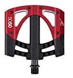 "Crank Brothers 5050 3 Mountain/Downhill/Freeride (Red/black, 9/16"") Pedal"