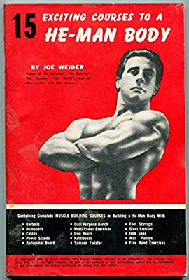 15 Exciting Courses He-Man Body Magazine -Joe Weider 1960 bodybuilding beefcake