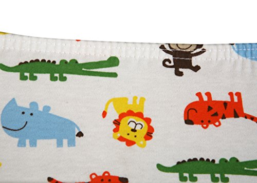 Premium Fitted Pack N Play Playard Sheet made with 100% ORGANIC Cotton, SAFARI by Luxuriously Soft-NEW YORK (Image #2)