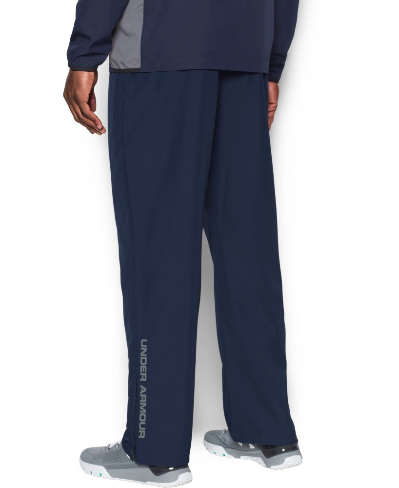 Under Armour Men's Vital Warm-Up Pants, Midnight Navy/Graphite, Medium by Under Armour (Image #2)