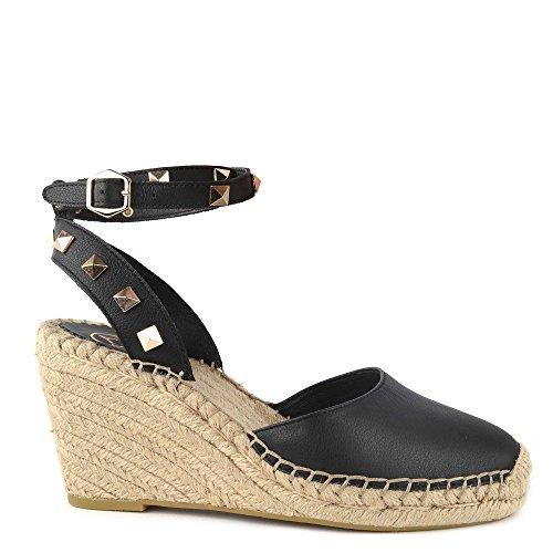Scarpe Nero Sandali Pelle Footwear Whitney In Ash Donna Bis Black Bwv6vn