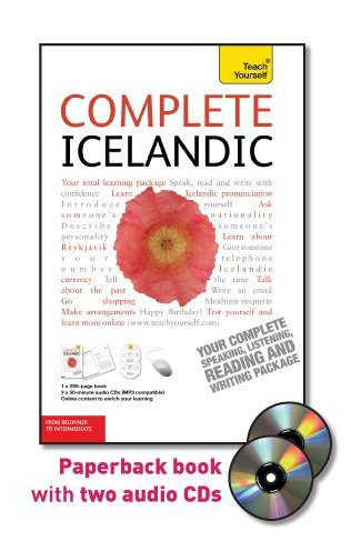 Complete Icelandic with Two Audio CDs: A Teach Yourself Guide (Teach Yourself Language) by McGraw-Hill