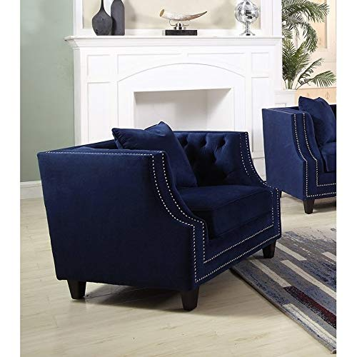 Velvet Accent Chairs