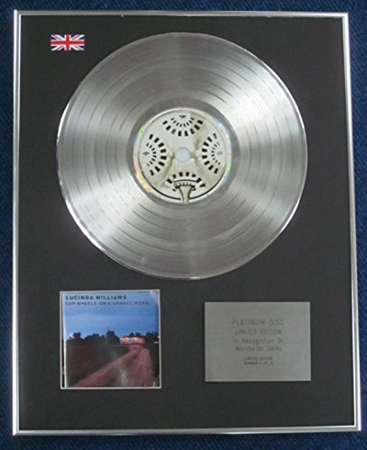 - Lucinda Williams- Limited Edition CD Platinum LP Disc - Car Wheels on a Gravel Road