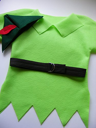 Handmade Halloween Costumes For Babies (Peter Pan Costume Infant/Toddler/Child)