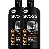 Syoss - Shampooing - Repair Expert - Flacon 500 ml - Lot de2