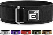 Element 26 Self-Locking Weight Lifting Belt   Premium Weightlifting Belt for Crossfit, Weight Lifting, and Oly