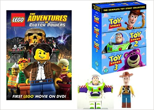 lego meets toy story christmas set includes lego the adventures of clutch powers lego toy story buzz lightyear minifigure lego toy story woody - Toy Story Christmas Movie