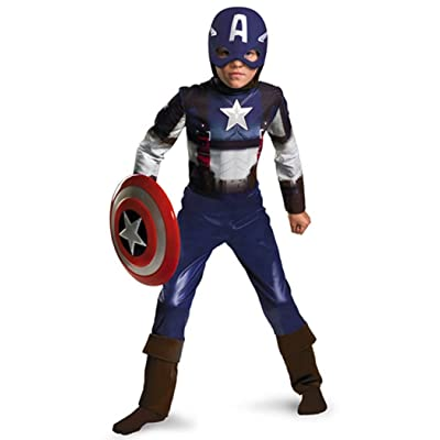 Captain America Movie Child Classic Costume: Clothing