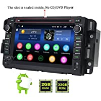 "JOYING 7"" 2GB 32GB Android 6.0 Marshmallow Bluetooth 4.0 Stereo Radio for Chevy Chevrolet Tahoe GMC Yukon Buick Enclave Head Unit Car Audio GPS Navigation Touch Screen Double Din"