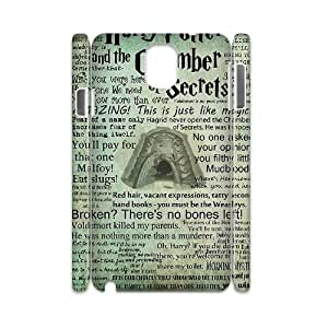 wugdiy New Fashion Cover 3D Case for Samsung Galaxy Note 3 N9000 with custom Harry Potter Quote