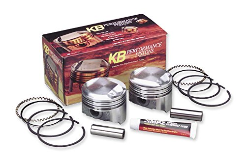 KB Performance KB411.030 Cast Piston Kit (95ci, Domed) - .030in. Oversize to 3.905in, 10.5:1 Compression