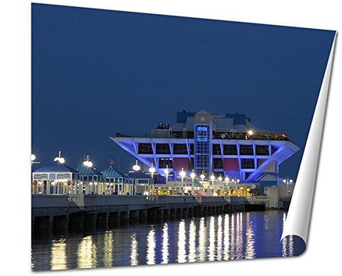 Ashley Giclee Fine Art Print, Pier In St Petersburg Florida USA, 16x20, - St Mall Fl In Petersburg