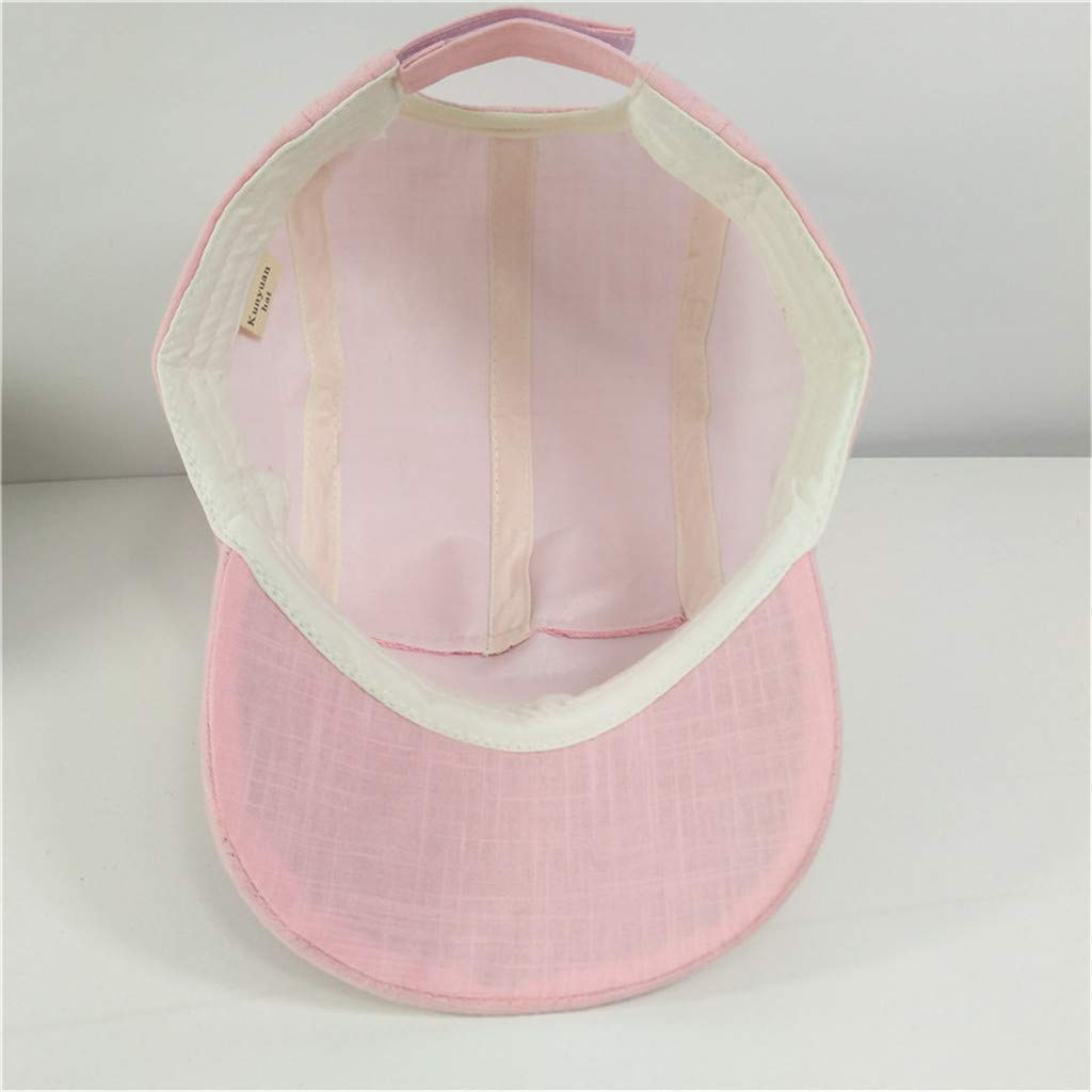 Children Summer Polo Cap Baseball Strap Sun Pony Adjustable Hat