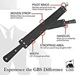 GBS Handmade Premium Black on BLACK Straight