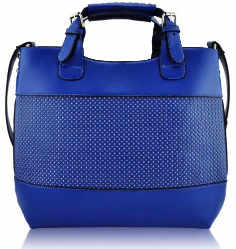 KCMODE Ladies Fashion Tote Shoulder Designer Satchel Handbag