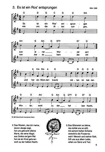Oh Tannenbaum Blockflöte.Die Schönsten Weihnachtslieder Sehr Leicht Bearbeitet 1 2 Sopran