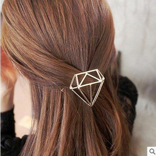 Pyrsun(TM) New Arrival Girls Hairgrip Fashion Gold Sliver Metal Hairpins Women Wedding Hair Jewelry Super Hair Accessories Hollow Hairclip