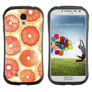 Suave TPU GEL Carcasa Funda Silicona Blando Estuche Caso de protección (para) Samsung Galaxy S4 I9500 / CECELL Phone case / / Orange Grapefruit Pattern Fruit /