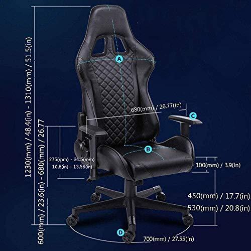 E-sport stol internet café hem företag kontor chef stol student nät röd ankare översyn datorstol knästol