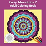 img - for Easy Mandalas 2 Square: Adult Coloring Book book / textbook / text book