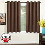 Amazoncom Brown Draperies Curtains Window Treatments Home