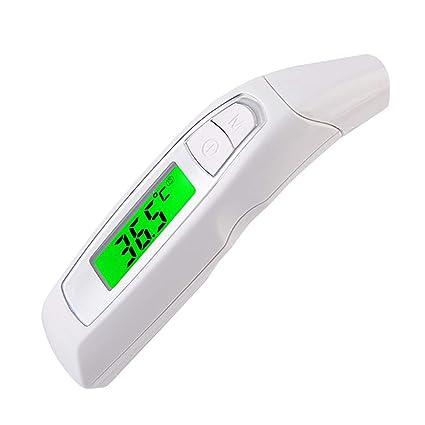 DPPAN Oído Termómetro de Frente, profesional de infrarrojos Termometro de Bebe, sin contacto Termómetro