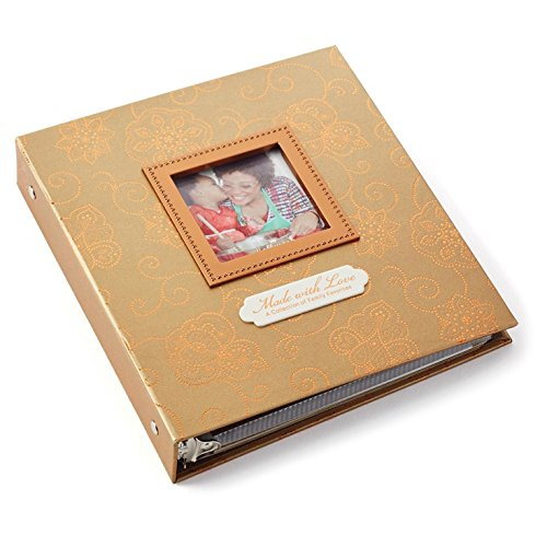 Heirloom Recipe Book with Photo Frame Recipe Organizers
