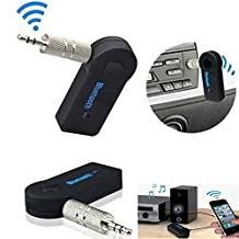 Wireless Bluetooth 3.5mm AUX Audio Stereo Music Home MP3 Car Receiver Adapter