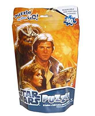 Star Wars on the Go Puzzle 100 Pieces, Model #18861