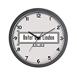 CafePress Unter den Linden, Berlin - Germany Wall Clock Unique Decorative 10 Wall Clock