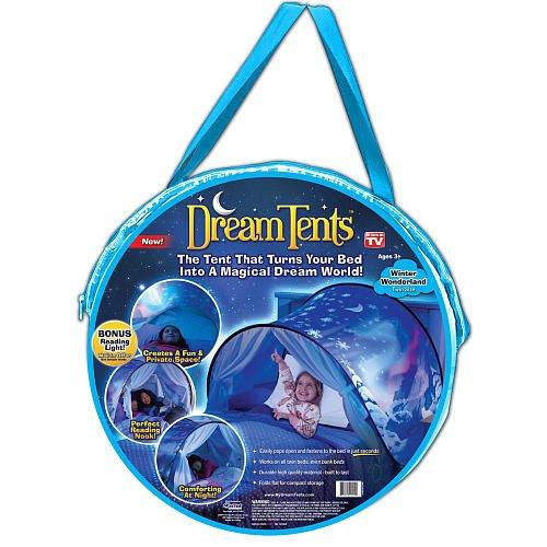 DreamTents Fun Pop Up Tent - Winter Wonderland -