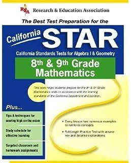 Amazoncom California Star Grades 8 9 Math California Star Test