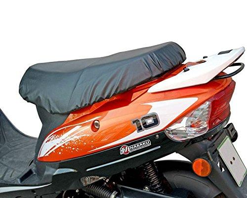 Sitzbezug Roller abnehmbar - wasserdicht schwarz fü r Baotian QT9, Jinlun Fighter 50 & Chinaroller mit kurzer Sitzbank Xtreme