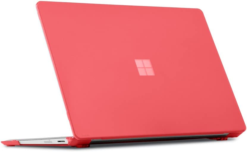 mCover Hard Shell Case for 2019 15-inch Microsoft Surface Laptop 3 Computer (Released After Oct. 2019) - MS-SFL3-15 Red