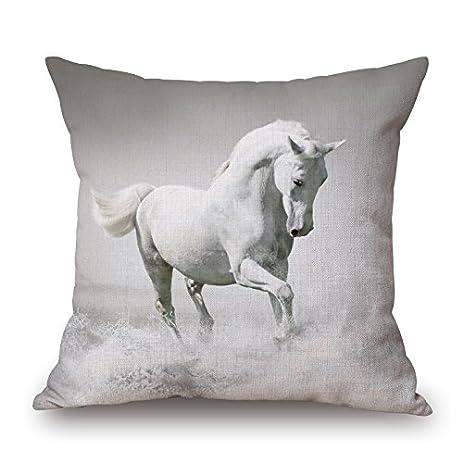 pillow at black shot adam screen horse am trest
