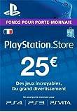 Carte Playstation Network 25 EUR | Code Jeu PSN - Compte français