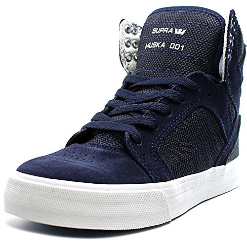 Sneaker Superstrada Da Donna Blu Scuro Bicolore / Bianco