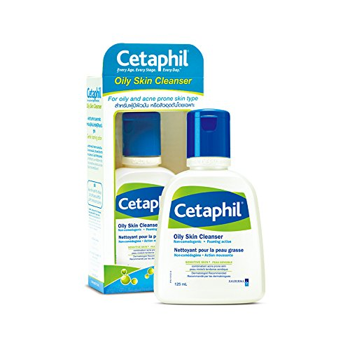 CETAPHIL OILY SKIN CLEANSER 125 ML. (W)