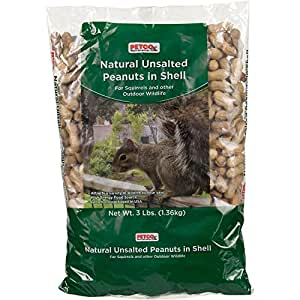 Petco Natural Unsalted Peanuts in Shell Wildlife Food, 3 lbs