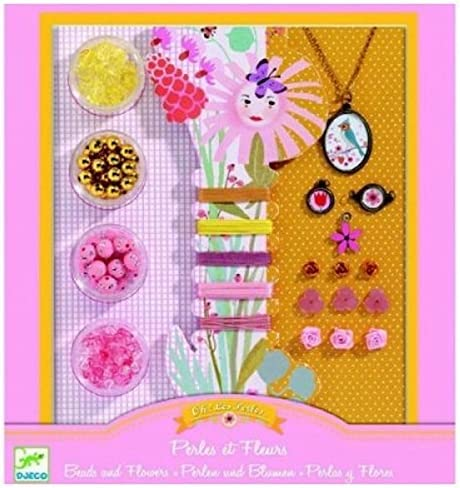Pearls and Flowers Playset DJECO DJ09801 Ooh Beads