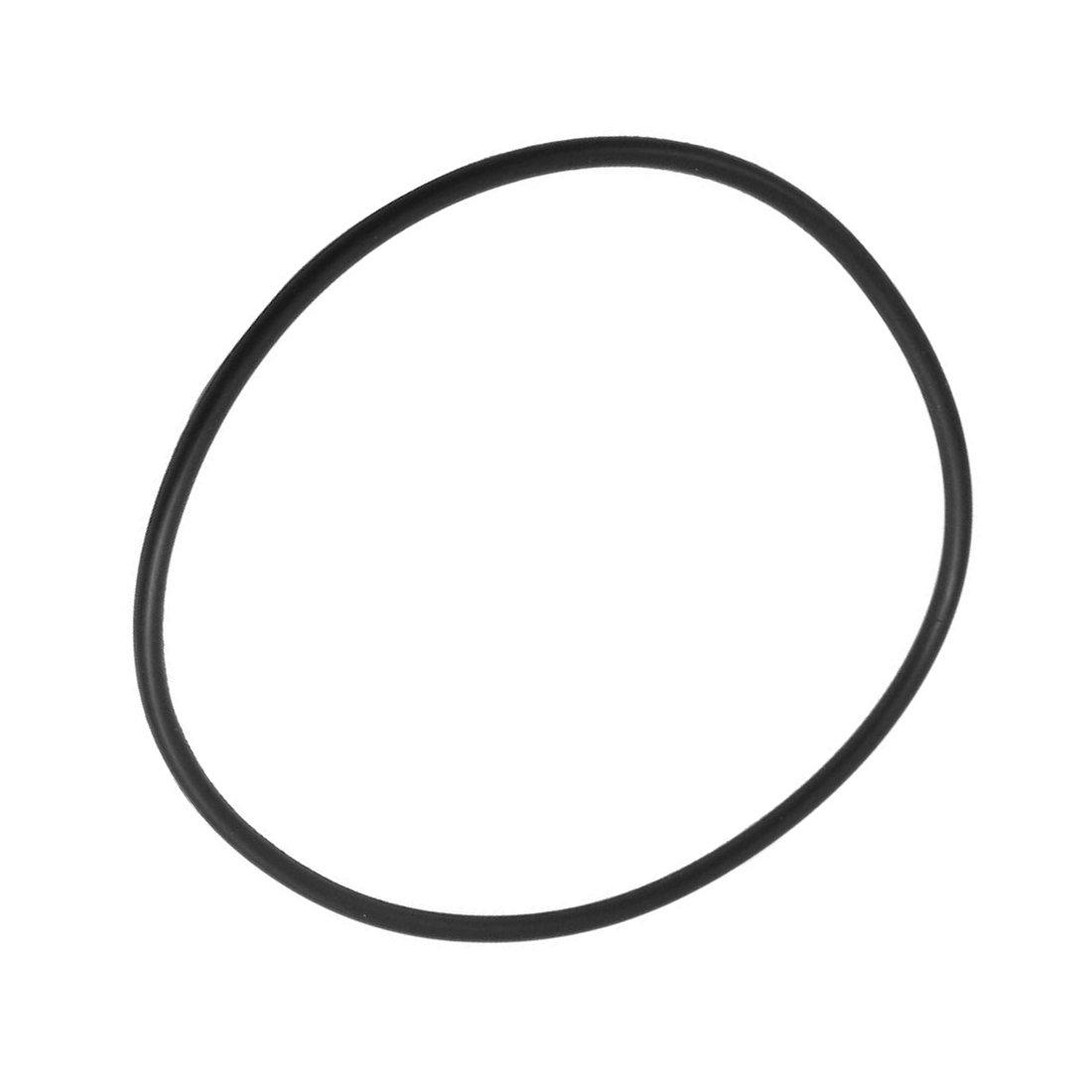 SNOWINSPRING Nitril Gummi O Typ Abdichtung Ring Dichtung oesen schwarz 150x140x5 mm