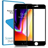 iPhone 8 Plus Tempered Glass Screen Protector Film 3D Full Screen Coverage Edge to Edge Protection 9H Anti-scratch Screen Cover Saver Guard for Apple iPhone 8 Plus / iPhone 7 Plus 5.5''