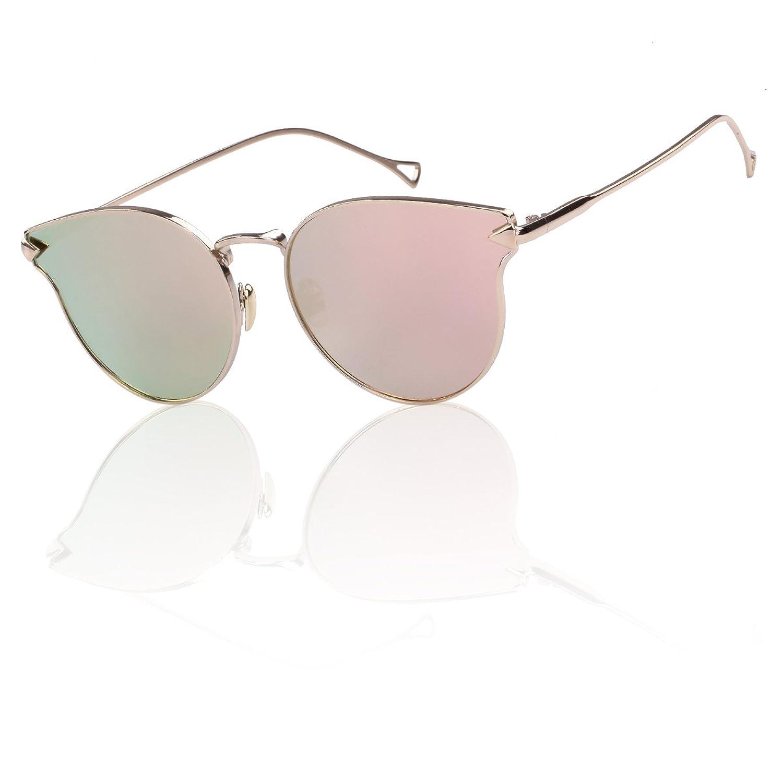 BLITZ Brand Designer women Sunglasses, vintage cat eye glasses frames women designer prescription mirrored sunglasses for women