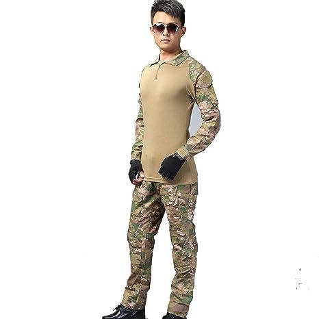 LAFE Ropa táctica Táctico Soldado Especial Traje de Rana ...