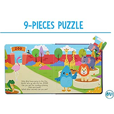 Our Best Book with 5 Jigsaw Puzzles for Toddlers 3 Years. Learning and Educational Toddler Puzzles from 2 Years Old with Chunky Pieces. 3 Years Old Girl boy Gifts.: Toys & Games