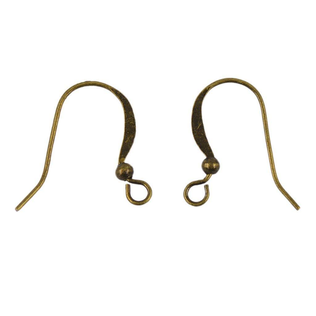 Neu blei- und nickelfrei Ohrhaken,Fischhaken für Ohrhänger  Antik