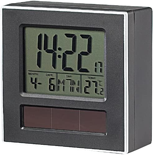 Blue Metal POWERplus Racoon Solar Powered Sound Activated Clock