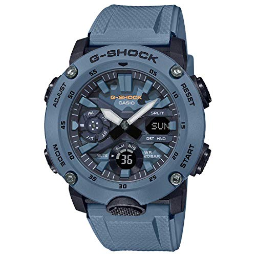 G-Shock Mens Quartz Watch, Analog-Digital Display and Resin Strap - GA-2000SU-2ADR